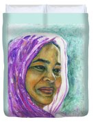 Lady From Bangladesh Duvet Cover