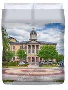 Lake City Courthouse Duvet Cover