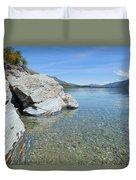 Lake Shore Duvet Cover