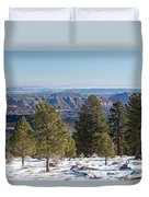 Larb Hollow Overlook Duvet Cover