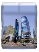 Las Vegas Strip Duvet Cover