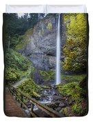 Latourell Falls Duvet Cover