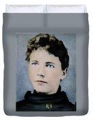 Laura Ingalls Wilder (1867-1957) Duvet Cover