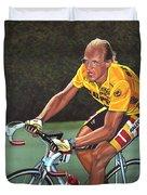 Laurent Fignon  Duvet Cover