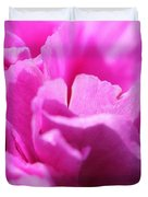 Lavender Carnation Duvet Cover