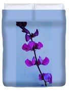 Lavender Flowers Duvet Cover