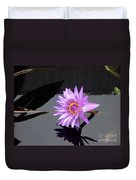 Lavender Lily Duvet Cover