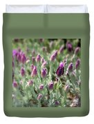 Lavender Standout Duvet Cover by Carol Groenen