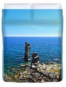 Le Colonne - San Pietro Island Duvet Cover