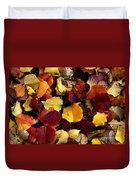 Leaves Of Autumn Duvet Cover