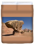Lees Ferry Rock Formation Arizona Duvet Cover