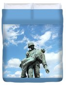 Liberation Monument Duvet Cover
