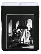 Liberty Bell, 1776 Duvet Cover