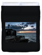 Light Behind The Darkness Duvet Cover