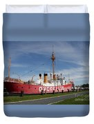 Light Vessel Overfalls Duvet Cover