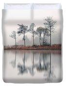 Loch Ard Reflections Duvet Cover