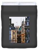 A Vision Of London's Skyline Duvet Cover