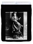 Lotta Crabtree (1847-1924) Duvet Cover