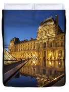 Louvre Reflections Duvet Cover by Brian Jannsen