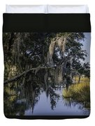 Lowcountry Creek Duvet Cover