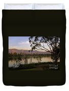 Lower Otay Lake - California Duvet Cover