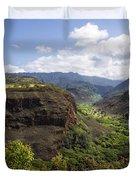 Lower Waimea Canyon Duvet Cover