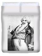 Luigi Lablache (1794-1858) Duvet Cover