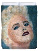 Madonna The Early Years Duvet Cover