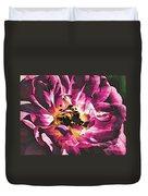 Magenta Rose Duvet Cover