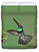 Magnificent Hummingbird Duvet Cover