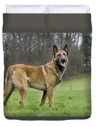 Malinois, Belgian Shepherd Dog Duvet Cover
