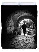 Man In An Archway / Hammamet Duvet Cover