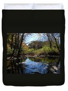 Mansfield Hollow Lake Duvet Cover
