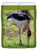 Marabou Stork Duvet Cover