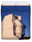 Martin Luther King Memorial Duvet Cover
