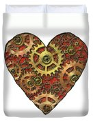 Mechanical Heart Duvet Cover
