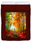 Melody Of Autumn Duvet Cover
