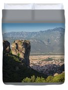 Meteora, Thessaly, Greece. The Eastern Duvet Cover
