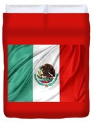 Mexican Flag Duvet Cover