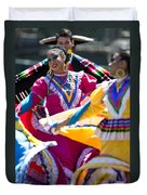 Mexican Folk Dancers Duvet Cover