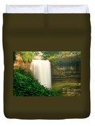 Minnehaha Falls Duvet Cover