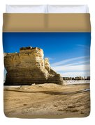 Monument Rocks Of Kansas Duvet Cover