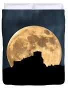 Moonstruck Over Tuscany Duvet Cover