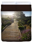 Morning Glory Duvet Cover by Lynn Bauer