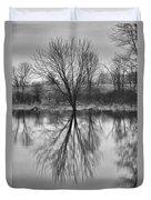 Morning Reflection Duvet Cover