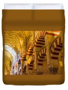 Mosque Cathedral Of Cordoba  Duvet Cover