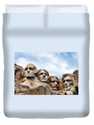 Mount Rushmore Monument Duvet Cover