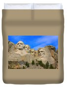 Mount Rushmore South Dakota Duvet Cover