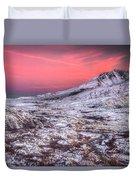 Mt. St. Helens Sunset Duvet Cover