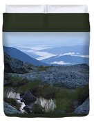 Mt. Washington Blue Hour Duvet Cover